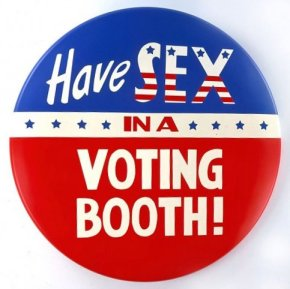 Have Sex in a Voting Booth