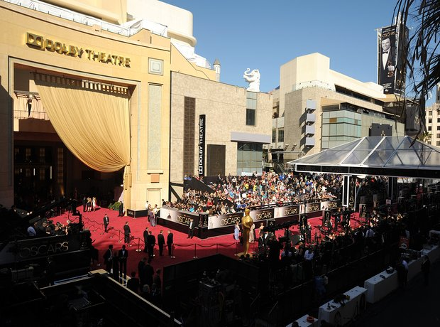 the permanent venue of Oscars is noe called Dolby Theatre after Kodak filed for bankrupcy and lost their sponsor-naming rights
