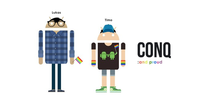 Androidify, Android: And Pride